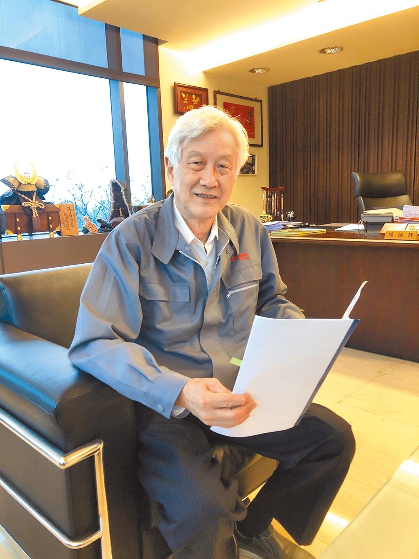 台灣工具機公會副理事長、智庫委員會召集人陳金柏。圖/莊富安