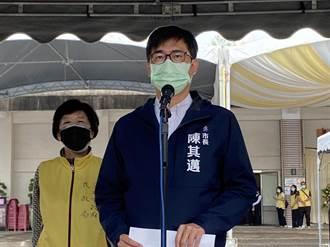 陳其邁感謝藍綠政治大咖慰問和捐款 「他」被口誤2次變總統