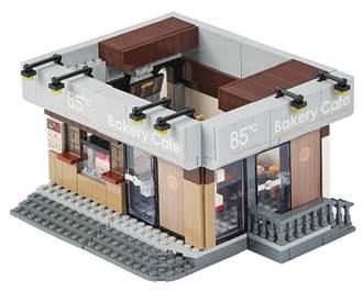 擁有一家自己的咖啡館!85度C「景美門市積木」限量開賣