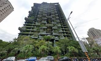 竹北這棟建築外觀「都是草」像發霉 內行人:貴爆