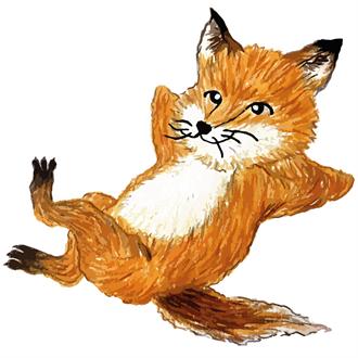 韓系美妝蘭芝霧感小方塊 聯名小狐狸超級卡哇伊