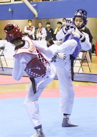 全運會》東奧銅牌 跆拳道甜心羅嘉翎4連勝輕鬆摘金