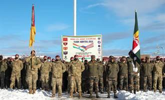 與陸邊境緊張 印度和美雪地「準備戰爭」大練兵