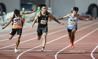 全運會》風速王楊俊瀚10秒29奪金 完成4連霸紀錄