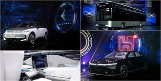Model C 電動休旅免百萬元即可入手!鴻海 MIH 平台首發三款電動車全面亮相