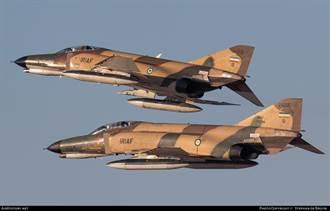 陸反艦導彈技術助伊朗升級老舊F4戰機 美航母不敢進波斯灣