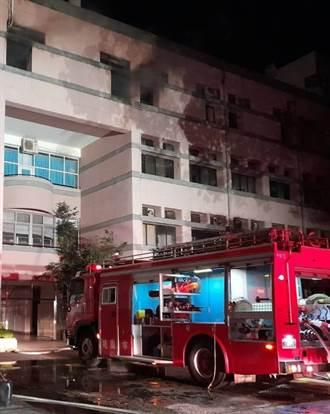中央大學實驗室冒煙 消防局派遣10車26人救援