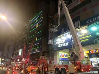 防城中城悲劇 桃園火車站前商圈模擬夜間救災 過程逼真