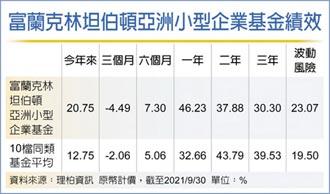 富蘭克林:亞洲小型股具優勢