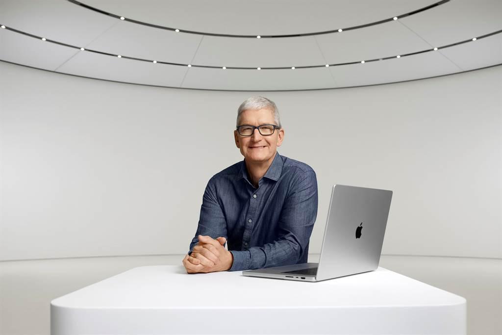 蘋果MacBook Pro全面升級。(圖/美聯社)