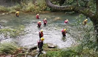 搜救虎豹潭2女學生逾60小時 今出動357人下游往上找