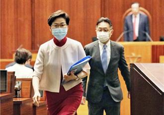 香港特首林鄭月娥跌倒骨折 留院觀察中