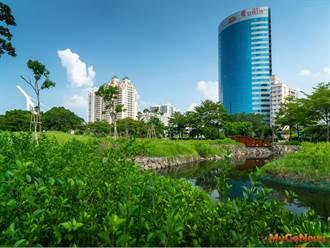台南運河星鑽區大涼(公97)公園獲獎