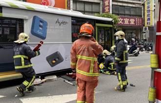 永和Uber Eats外送員擦撞機車倒地遭公車輾過 命危送醫不治