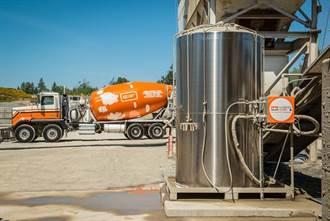 國產建材拚零碳排 導入全台首創碳礦化混凝土
