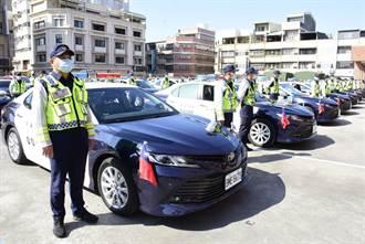 彰化挺警察史上最大手筆 豪擲1.34億汰換380輛警用汽機車