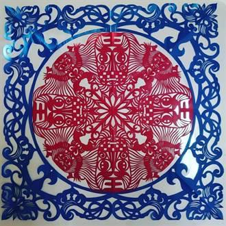 藝術家相挺 攜西港文化祭剪紙、彩盤展詮釋刈香文化