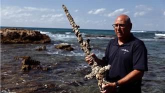 以色列淺海發現十字軍長劍 距今900年前