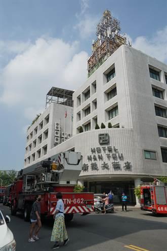 南投防疫旅館傳火警 業者迅速撲滅無人傷亡