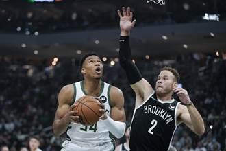 NBA》字母哥發威 開幕戰率領衛冕軍公鹿擊潰籃網