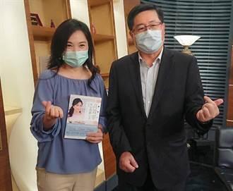 伴父走過治療路 張鳳書25日赴中醫大新竹附醫新書座談會