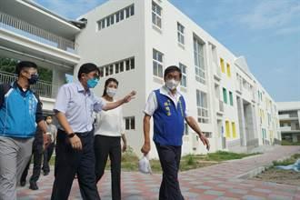 南投市南崗國中新校舍斥資1.9億 12月將啟用