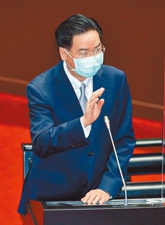 吳釗燮擬月底訪歐 參加跨國會議