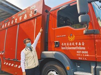 率先全台 台南消防車裝AI警示