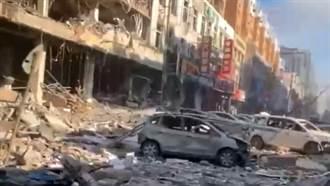 驚天巨響!瀋陽飯店氣爆   附近商家全毀現場畫面曝光
