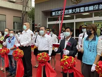 新北消防提升救援能量 成立全國首座空呼器檢測室