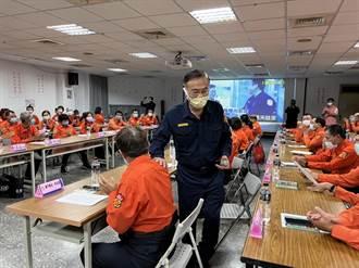 板橋警分局義交常年訓練 警局長黃宗仁到場勉勵