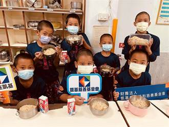 凱基慈善基金會助學童 營養早餐愛心滿滿