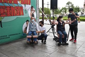 苗栗頭份市公所舉辦有氧派對 潘若迪將與銀髮族健身抗病毒