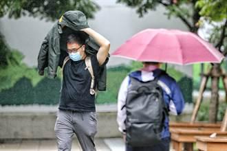 今晚起氣溫再降雨更猛 最冷時間點曝光 下周又有颱風