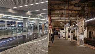 廣州與紐約地鐵對比圖爆紅 中美網友熱議民眾生活品質