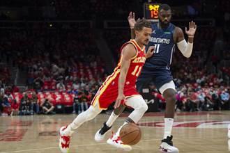 NBA》「新生」獨行俠開幕戰重摔 慘遭老鷹無情啄傷