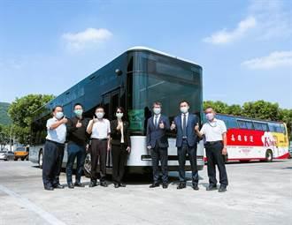 北基攜鴻華先進Model T 投入電動巴士快速充電樁布局