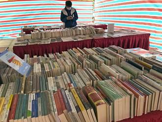 金門書展戶外登場 2000種好書迎愛書人