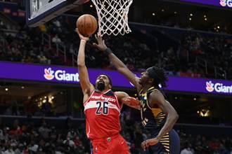 NBA》無視透納40分 丁維迪領巫師延長逆轉擊退溜馬