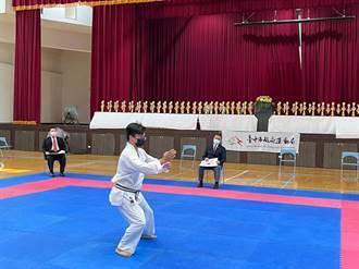 台中市長盃空手道錦標賽 各級好手熱血較勁