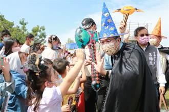 台南舉辦嘉年華親子同樂 吸引逾5000人遛小孩