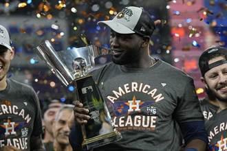 MLB》打擊率0.522創紀錄 艾瓦瑞茲獲選美聯冠軍戰MVP