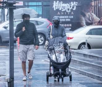 北台灣持續濕冷低溫18度 下周一起回暖 冷空氣這天再報到