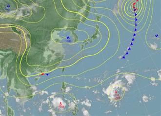 雙颱接力!「瑪瑙」最快今晚生成 模擬路徑曝光