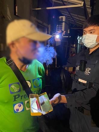 通緝犯拒絕拿出身分證 警盤查起出子彈、毒品