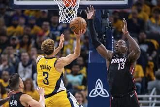 NBA》第3節只拿8分沒差 溜馬照樣延長撲滅熱火