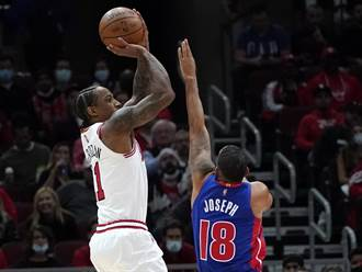 NBA》公牛狂電活塞 領先全聯盟搶下開季3連勝