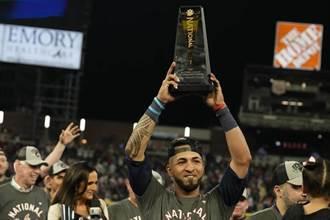 MLB》追平松井秀喜、普侯斯紀錄 羅薩里歐獲國聯冠軍戰MVP