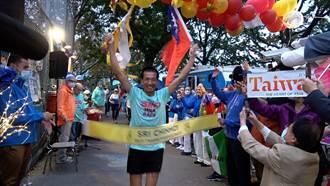 超馬提前完賽「超馬鐵彈子」羅維銘亞洲最會跑