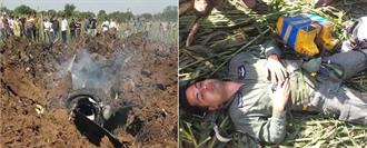 印度空軍又墜機 幻象2000也摔